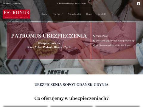 Mobilny Agent Ubezpieczeniowy PATRONUS Ubezpieczenia Sopot