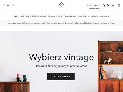 Patyna.pl - sklep z meblami vintage
