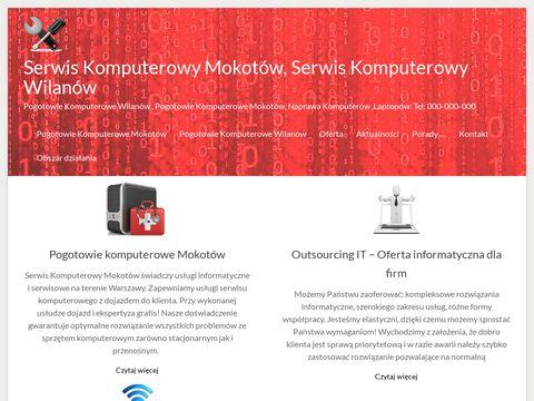 Serwis komputerowy Warszawa - Mokot贸w