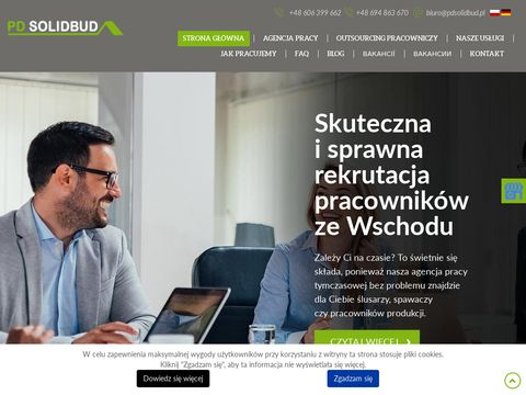 Pdsolidbud.p agencja pracownik贸w z Ukrainy