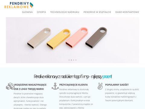 Nadruki na pendivach USB