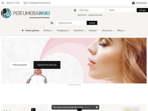 Akcesoria i perfumy sklep internetowy – Perfumeria WIKI