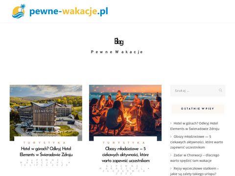 Pewne-wakacje.pl - Twój portal wakacyjny
