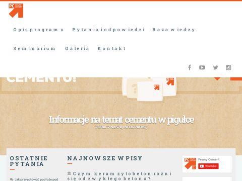 Pewnycement.pl - Wszystko o cemencie