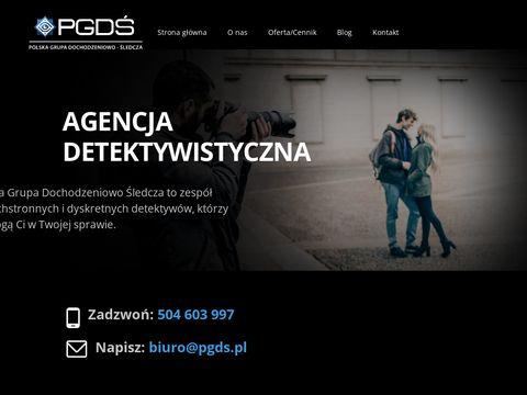 Agencja Detektywistyczna PGDÅš Warszawa