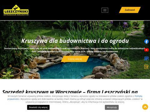 Phu-leszczynski.pl otoczaki warszawa