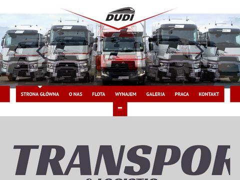 PHU DUDI | Transport expresowy na terenie Europy do 3.5 tony