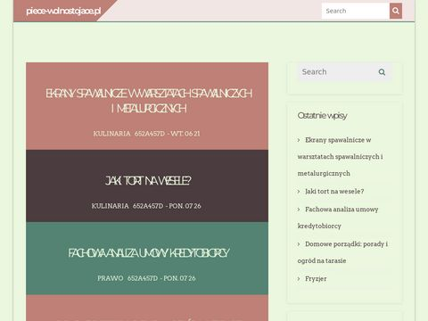 Kominki - piece-wolnostojace.pl