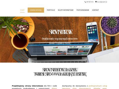 Pixent.pl - profesjonalne strony internetowe - Rzeszów