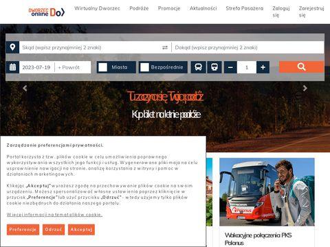 Bilety autobusowe krajowe - Polonus