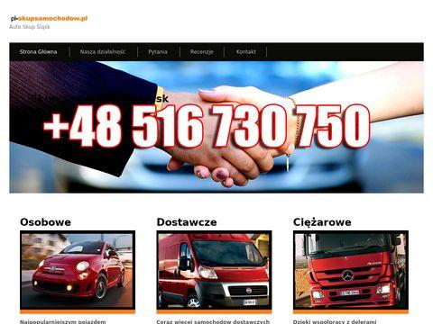 Skup samochodów za gotówkę Śląsk