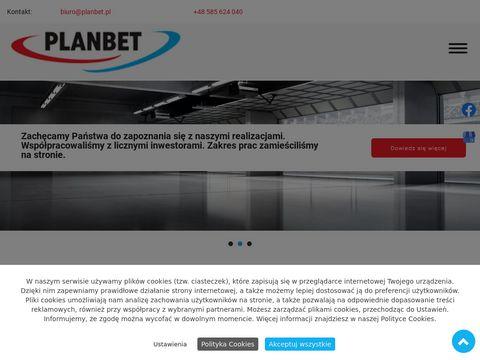 PLANBET wynajem sprzętu budowlanego gdańsk