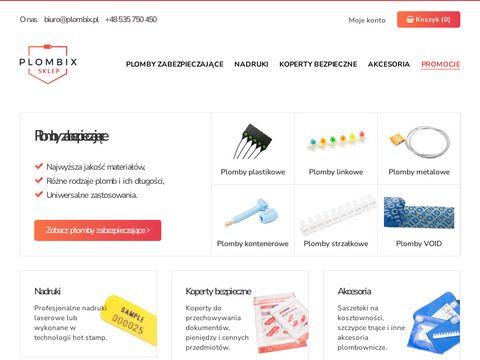 Plombix.pl - plomby zabezpieczajÄ…ce