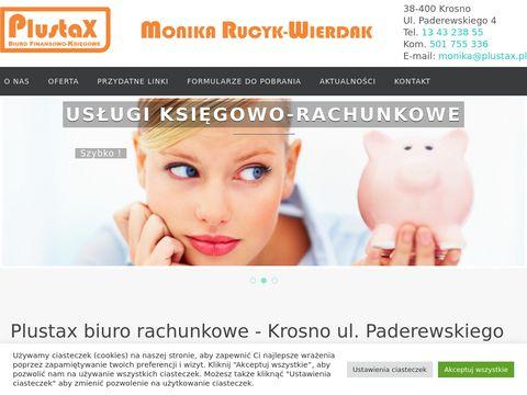 Biuro Rachunkowe Krosno PLUSTAX: Ksi臋gowo艣膰, Obs艂uga Kadrowo P艂acowa