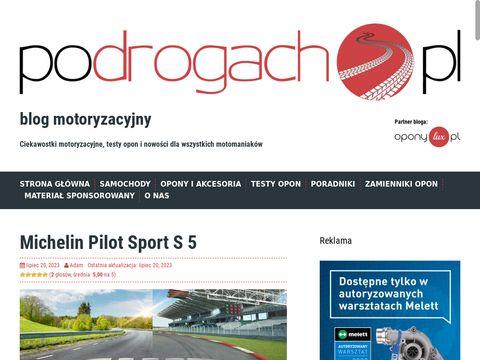 Blog motoryzacyjny - opony, nowinki motoryzacyjne, porady