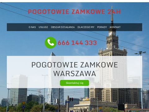Pogotowie zamkowe Warszawa 24H