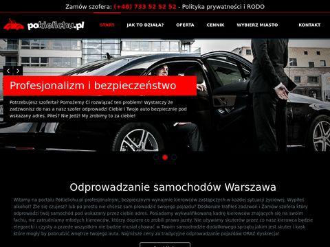 Po kielichu odprowadzanie samochod贸w Warszawa