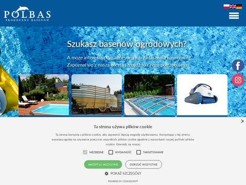 Polbas – producent basenów, baseny kąpielowe i ogrodowe