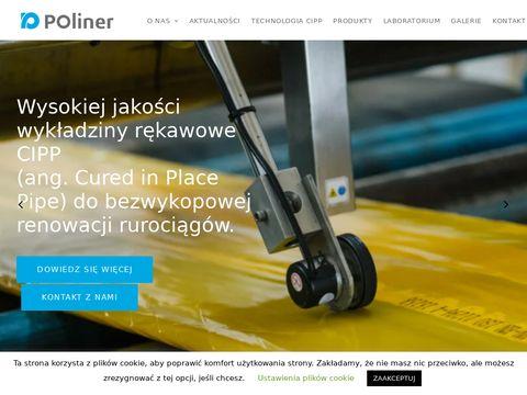 Poliner - producent rękawów polimerowych do renowacji sieci - cipp
