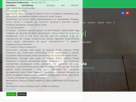 POLISHSTYLE pasty polerskie