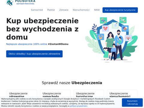 Polisoteka.pl - kup najlepsze ubezpieczenie turystyczne