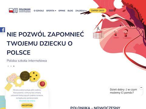 Polonijka - polska szko艂a online dla dzieci za granic膮