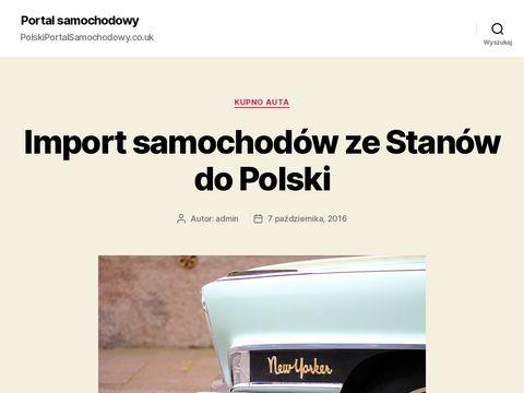 Polski Portal samochodowy UK