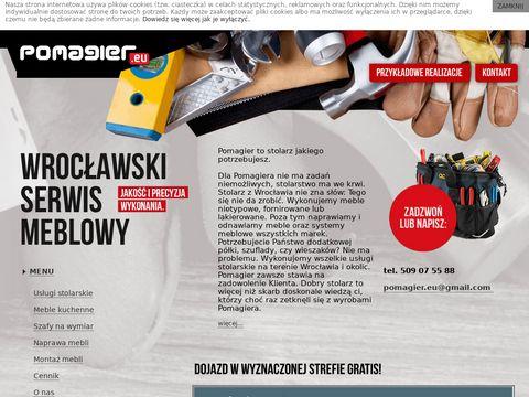 Serwis meblowy i konserwacyjny Wrocław.