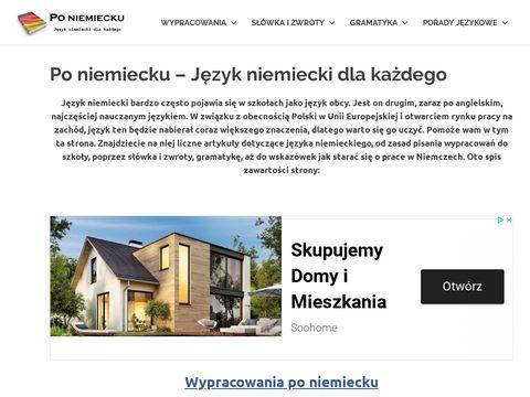 J臋zyk niemiecki - poniemiecku.com