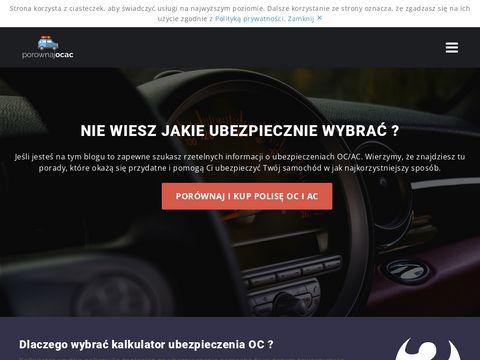 Porównywarka OC AC - porownaj-ocac.pl