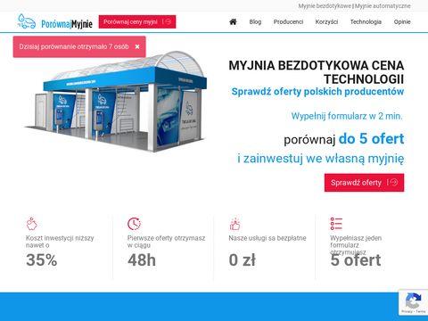 Myjnie bezdotykowe jako pomysł na biznes - Porównajmyjnie.pl