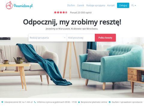 Sprz膮tanie mieszka艅 i biur - Pozamiatane.pl