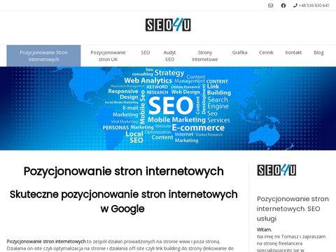 Pozycjonowanie i Projektowanie Stron www. Seo i Grafika.
