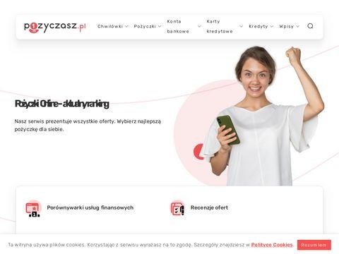 Porównywarka pożyczek online | Pozyczasz.pl