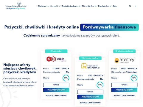 Chwilówki - pozyczkowy-portal.pl