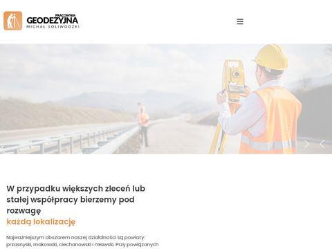 ENER-GEO Mapy do celów projektowych mława