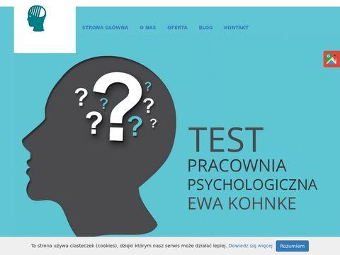 TEST Badania psychologiczne
