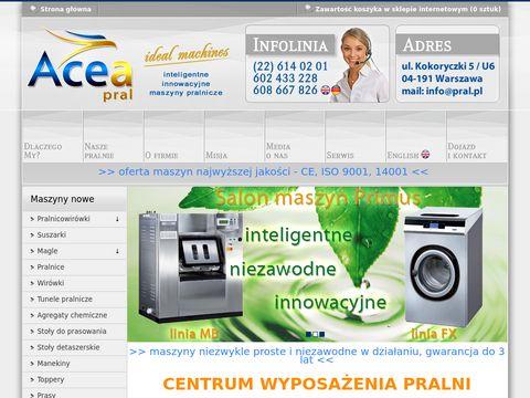 Innowacyjne maszyny do pralni-znakowanie odzieży-SALON firmowy PRIMUS