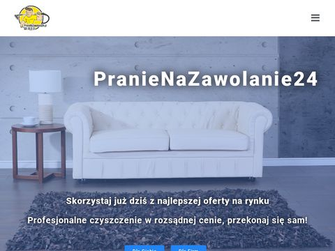 Czyszczenie kanap - pranienazawolanie24.pl