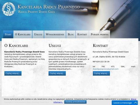 Usługi prawne w Nowej Hucie - Prawnik Kraków