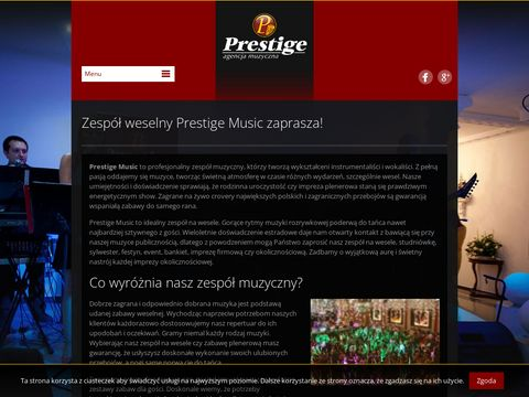 Wesele z Zespołem Prestige