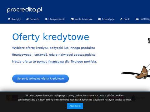 Inwestycje - procredito.pl