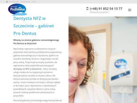 Prodentus.pl gabinet stomatologiczny