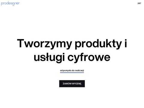 Agencja Interaktywna Prodesigner - Projektowanie stron internetowych