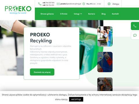 Proekorecykling.pl