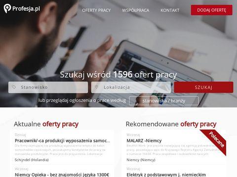 Profesja.pl - ogłoszenia o pracę, oferty pracy