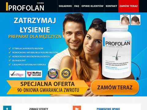 Profolan - tabletki na 艂ysienie