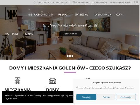 Biuro nieruchomo艣ci Projekt ME w Goleniowie