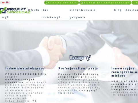 Projekt sprzedaż - Rozwiniemy Twój biznes