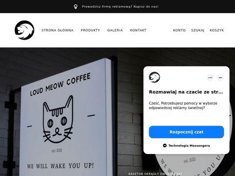 Prokonstrukcje.pl- reklama 艣wietlna
